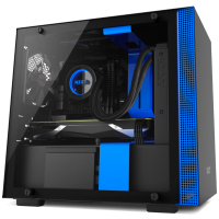 NZXT H200i (黑藍透側)