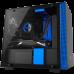 NZXT H200i (黑藍透側)