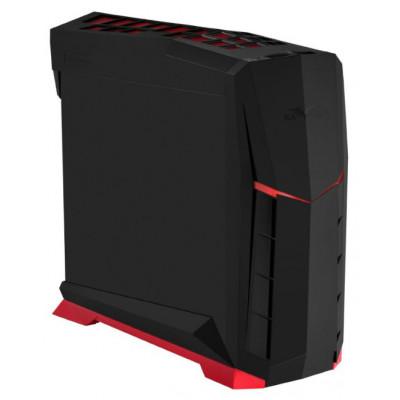 銀欣 SST-RVX01BR-W (黑紅+側透窗)  烏鴉