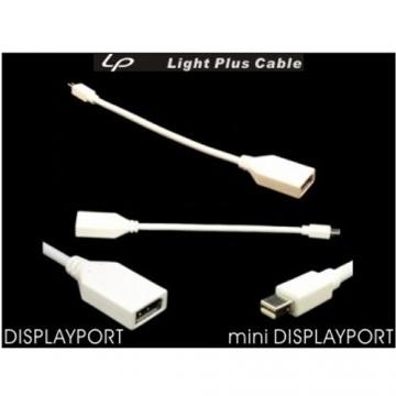 LPC-519 轉接線mini Displayport (公) to Displayport (母)...