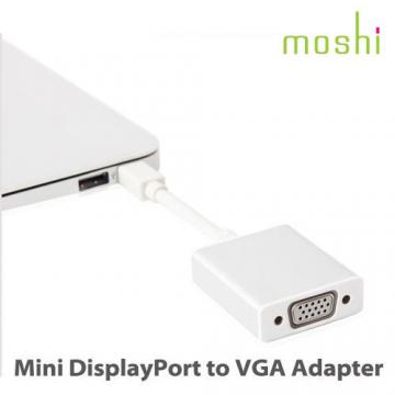 ★6期零利率★ Moshi Mini DisplayPort to VGA 轉接線