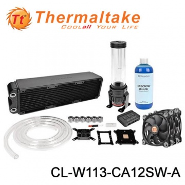 Thermaltake 曜越 Pacific RL360 水冷組合包 (CL-W113-CA12SW...