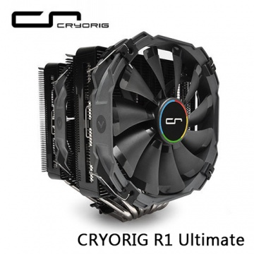 快睿 Cryorig R1 Ultimate 雙塔高階CPU散熱器 終極版 加強版