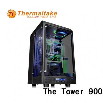 Thermaltake 曜越 The Tower 900 E-ATX (1大6小) 全景直立式機殼
