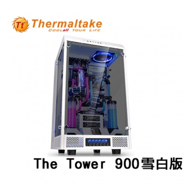 Thermaltake 曜越 The Tower 900 E-ATX (1大6小) 全景直立式機殼(...