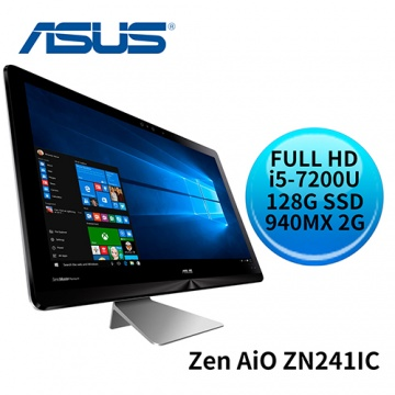 ASUS 華碩 Zen AiO ZN241IC i5-7200U GeForce 940MX FULL HD 液晶螢幕 All-in-One 電腦 (ZN241ICGK-720RA001T)