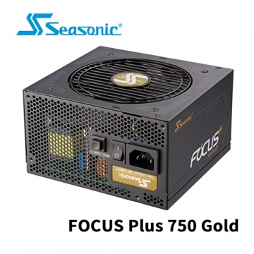 Seasonic 海韻 FOCUS Plus 750W Gold 全模組 80 PLUS 金牌 10...