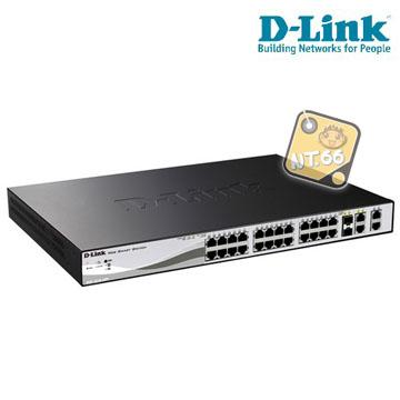 友訊 D-Link DES-1210-28 Smart III Switch 交換器