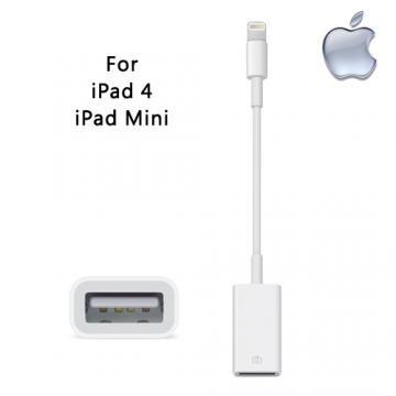 Apple 原廠 Lightning 對 USB 相機轉接器 For iPad 4 Air iPad mini Mini2