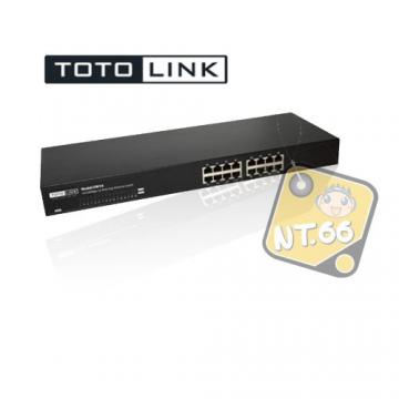 TOTOLINK SW16 Switch/16埠 100Mbps 交換器/集線器 適用1~15人 S...
