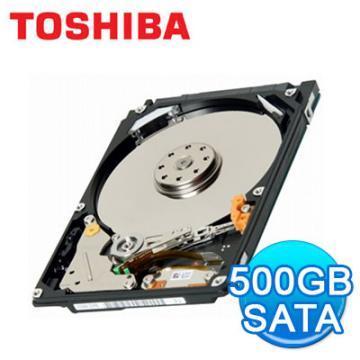 硬碟 Toshiba 東芝 500GB 2.5吋 SATA 內接硬碟 MK5059GSXP 筆電用