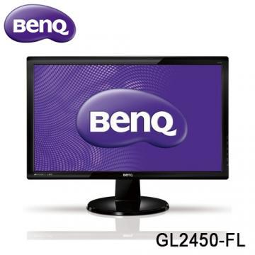 ★全方位完美演出★ BenQ GL2450-FL 24型 超高動態對比12M:1 Full HD 1080P 液晶螢幕 不閃屏