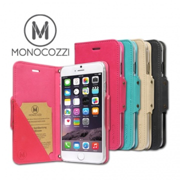 monocozzi Lucid Folio IPHONE6 Plus 站立插卡皮套
