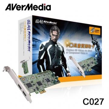 圓剛 C027 HDMI 高畫質 電視擷取卡