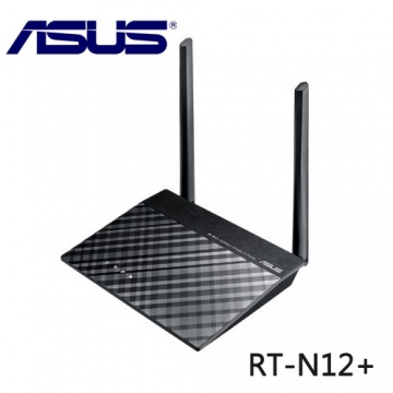 ASUS 華碩 RT-N12+ Wireless-N300 無線路由器