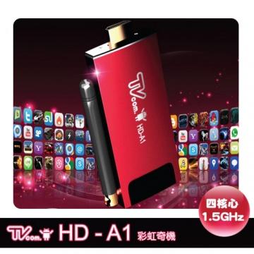 ★彩虹奇機★ Lantic 喬帝 HD-A1 四核心 藍芽4.0 Android 智慧電視棒