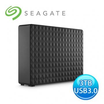 SEAGATE EXPANSION 新黑鑽 3TB 3.5吋 外接硬碟