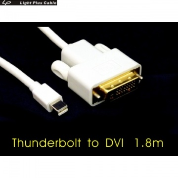 LPC-1662 Apple Mac Thunderbolt to DVI 轉接器 線長1.8m