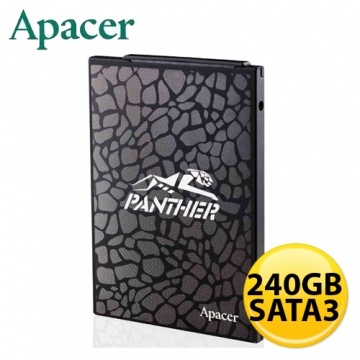 Apacer AS330 SATA3 240GB SSD 固態硬碟 (讀:515MB/s,寫:475...
