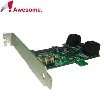 Awesome PCI/PCIe槽SATA 1轉5 Port Multiplier擴充卡 AWD-S...