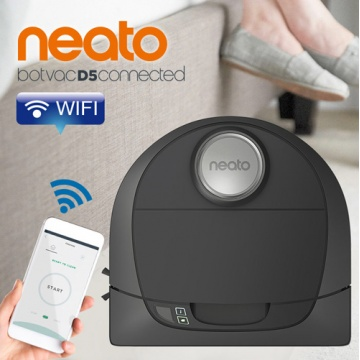 Neato Botvac D5 Connected Wifi遙控 雷射掃描掃地機器人 吸塵器
