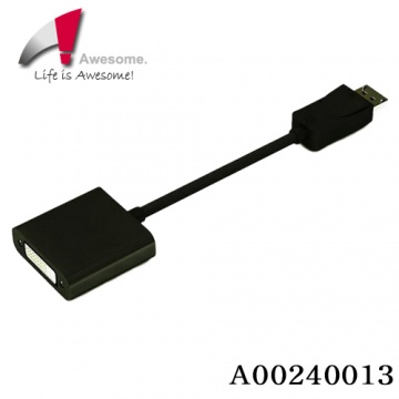 ★終身保固★ Awesome 主動式 DisplayPort TO DVI 轉接器 支援ATi Ey...