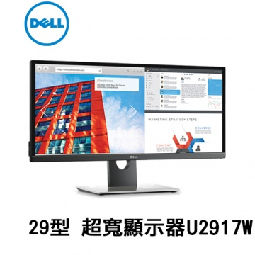 Dell UltraSharp 29 29型 超寬顯示器 | U2917W