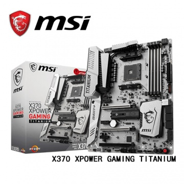 MSI 微星 X370 XPOWER GAMING TITANIUM AM4腳位 主機板