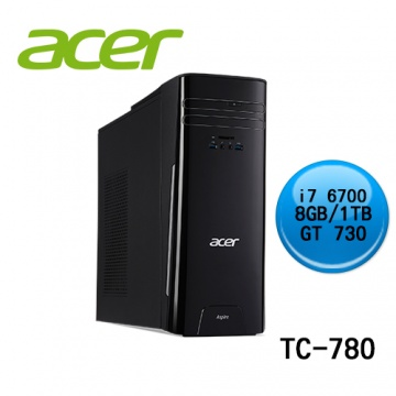 acer 宏碁 TC-780 (CPU i7 6700/8G RAM/1 TB HDD/GT 730 2G/WINDOWS 10)