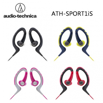 鐵三角 audio-technica ATH-SPORT1iS 智慧型手機用 耳掛式耳機