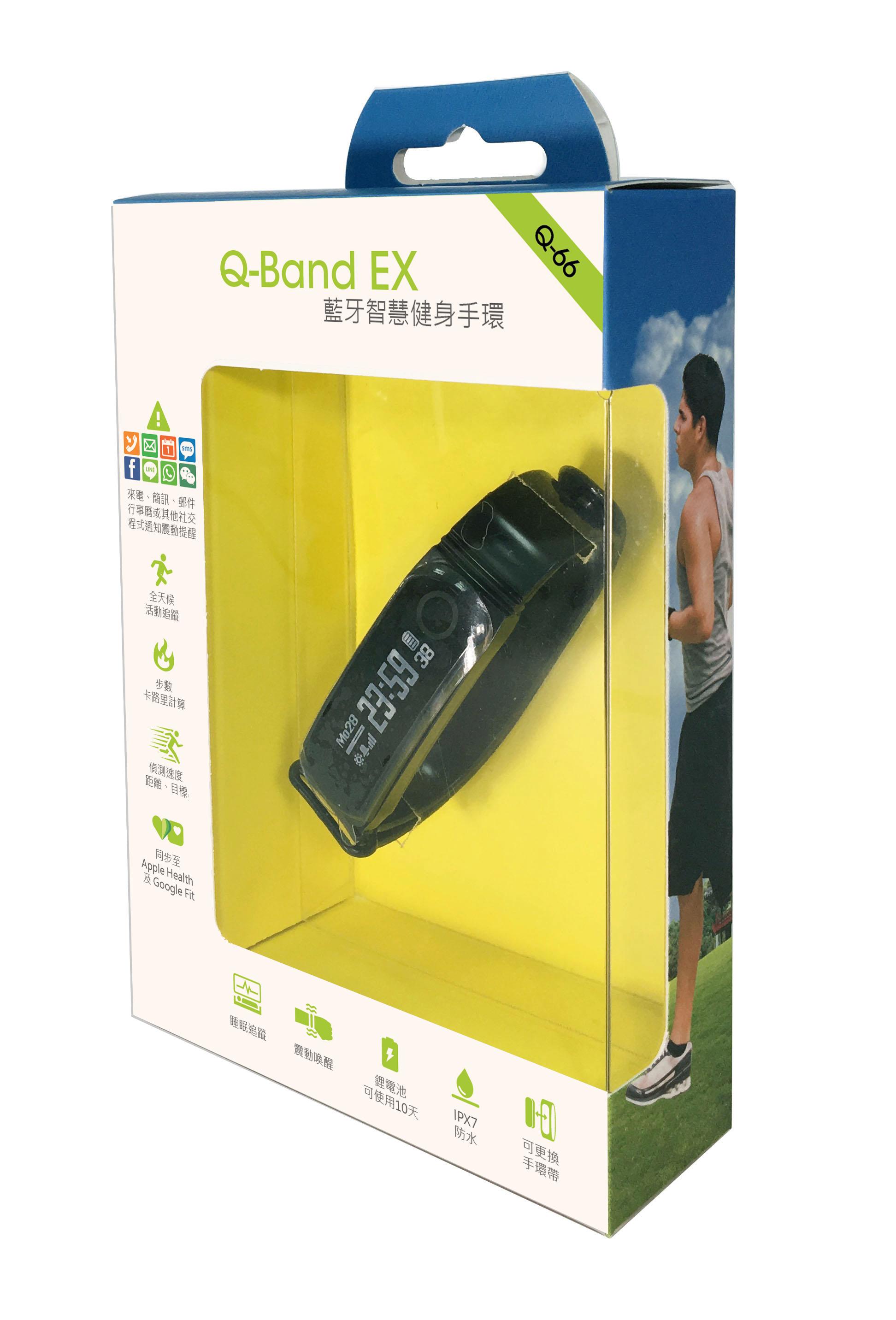 性用品可穿戴_i-gotU Q-Band EX 藍牙智慧健身手環 Q66 Q-66 (非HR心率款)