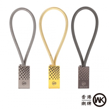 (兼容Lightning / Micro USB) WK Design香港潮牌 WDC-025 斯巴...