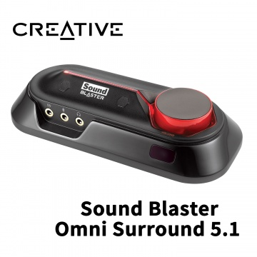 Creative 創巨 創新未來 Sound Blaster Omni Surround 5.1 外...