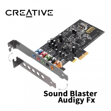 Creative 創巨 創新未來 Sound Blaster Audigy Fx PCI-E 音效卡