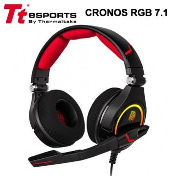 Tt eSPORTS 曜越 克諾司 cronos RGB 7.1耳機
