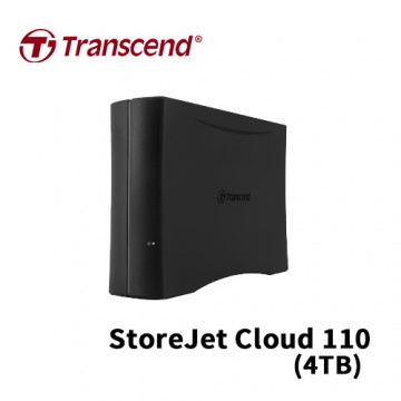 Transcend 創見 StoreJet Cloud 110 4TB USB3.0 3.5吋 個人...