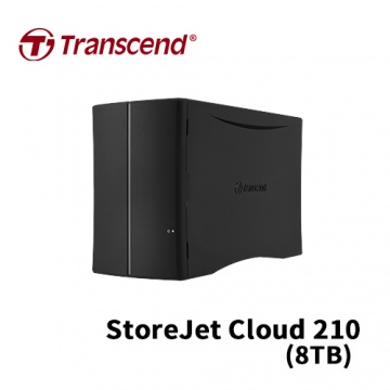 Transcend 創見 StoreJet Cloud 210 8TB USB3.0 3.5吋 個人...