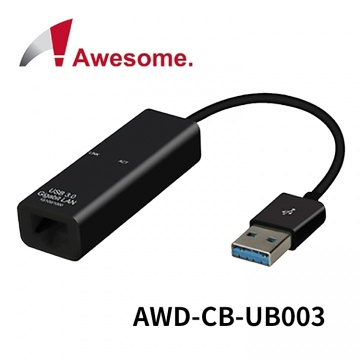 (終身保固) Awesome USB 3.0 to Gigabit Ethernet Cable 轉...