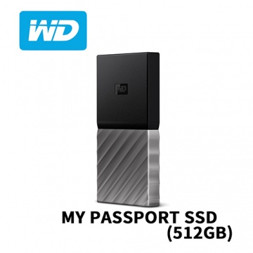 WD My PASSPORT SSD 512GB Type-C 外接式固態硬碟 USB 3.1