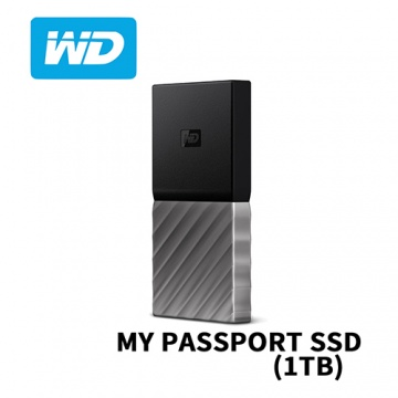 WD My PASSPORT SSD 1TB 外接式固態硬碟 USB 3.1 Type-C