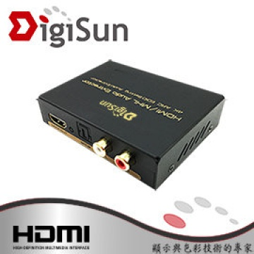 DigiSun AH211K 4K HDMI/MHL to HDMI+AUDIO(SPDIF+R/L...
