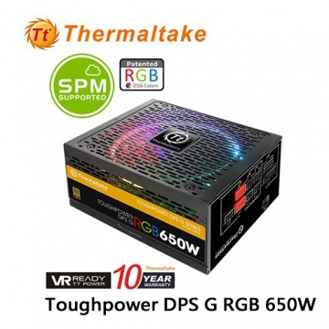 Thermaltake 曜越 Toughpower DPS G RGB 650W金牌數位電源供應器