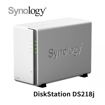 Synology 群暉科技 DiskStation DS218j 2Bay NAS 網路儲存設備