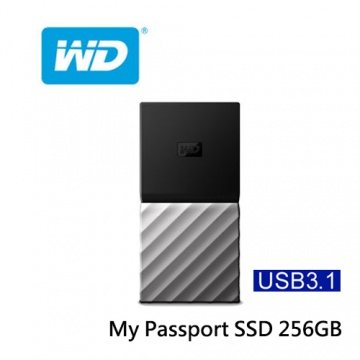 WD My Passport SSD 256GB 外接式固態硬碟