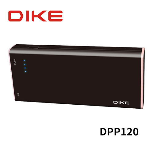 DIKE DPP120 QC 3.0/PD 19500mAh Type-C 雙向快充行動電源