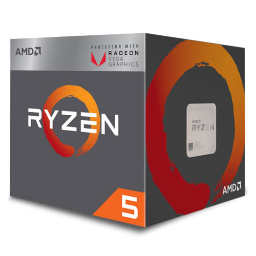 AMD Ryzen 5 2400G 3.6GHz CPU 處理器