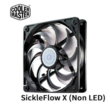 Cooler Master 120mm SickleFlow X 九葉鎌刀扇 無LED R4-SXN...