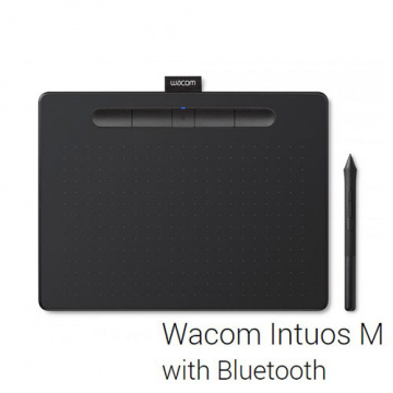WACOM Intuos COMFORT PLUS Medium CTL-6100WL/K0-CX ...