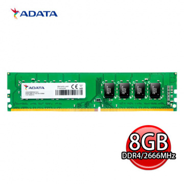 ADATA 威剛 Premier DDR4 2666 Unbuffered-DIMM 記憶體 AD4...