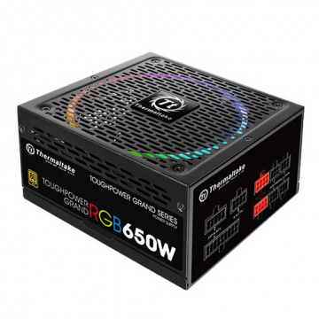Thermaltake 曜越 Toughpower Grand RGB 650W 金牌 電源供應器